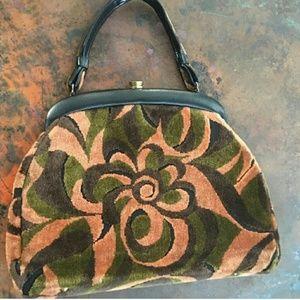 ✌ Vintage carpet purse